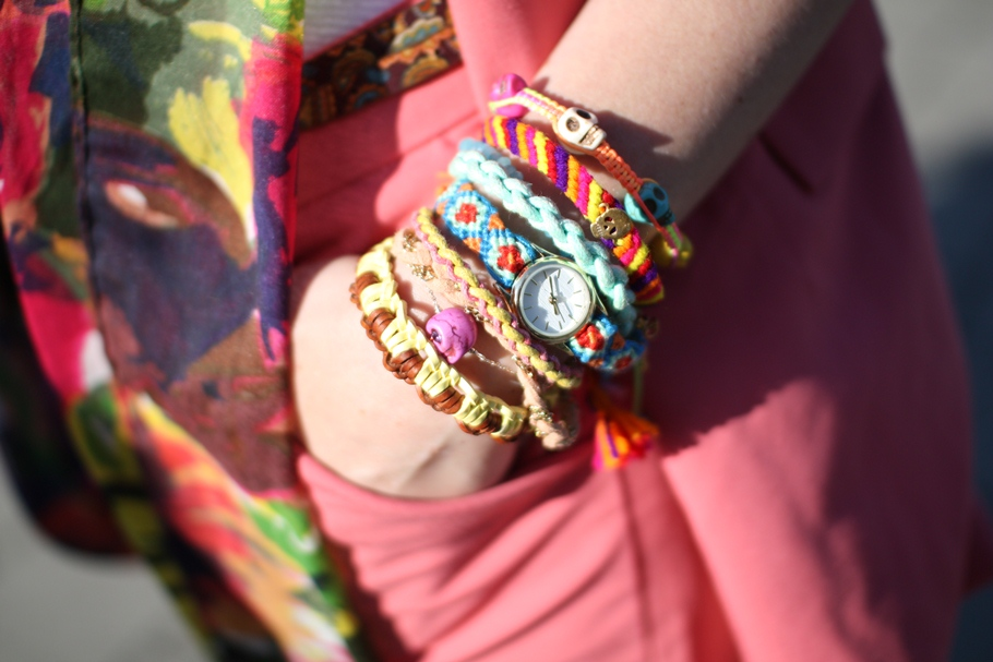 Tessted Colorful Arm Party  (2)