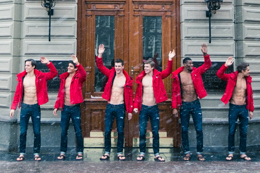 Modellen Abercrombie And Fitch