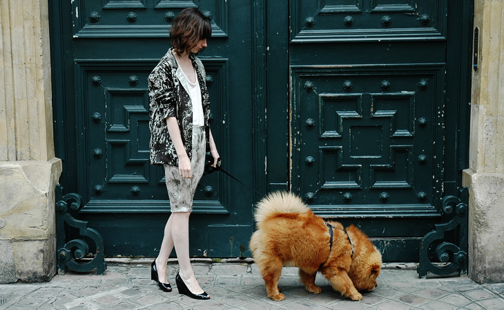 Fashion Dogs - Tessted modemaatje Lily Bear