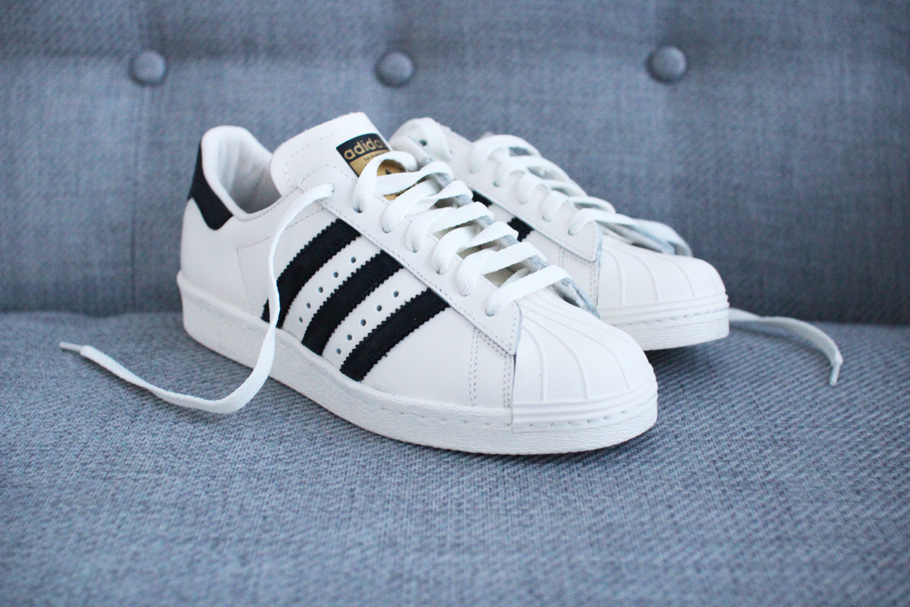 adidas originals wit zwart