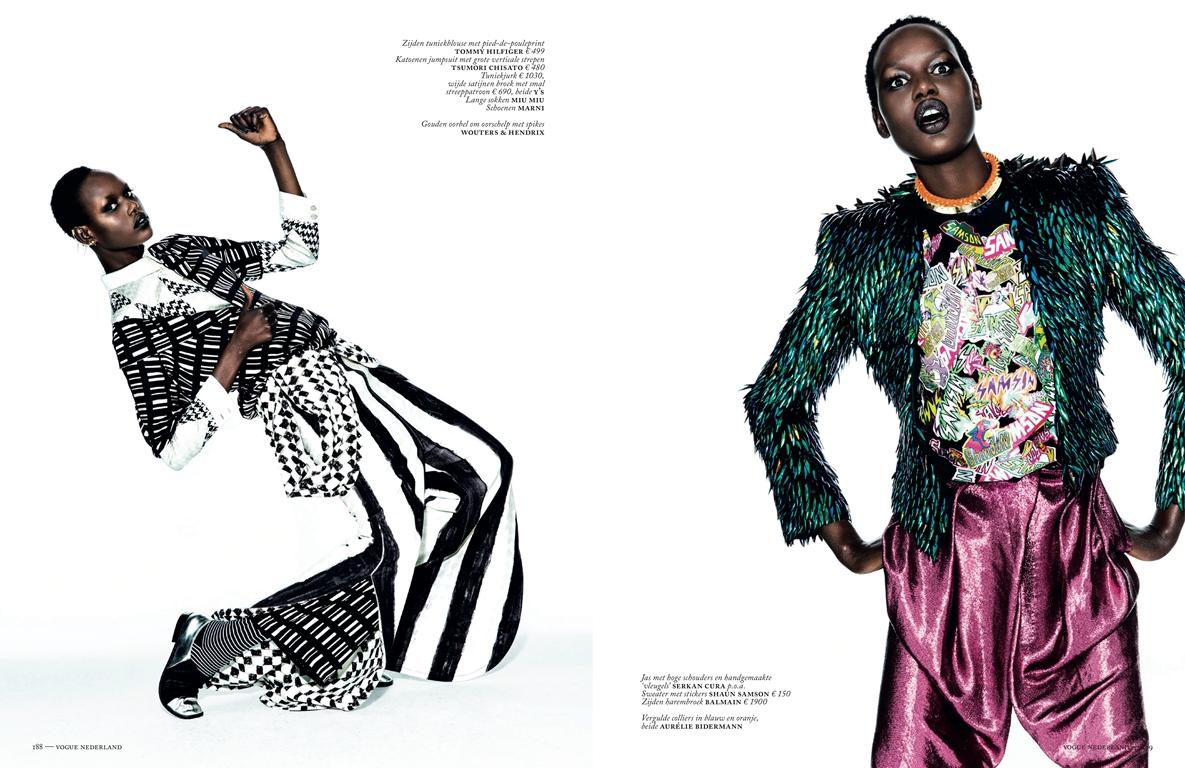 Doutzen Kroes September Vogue Nederland 2013 Tessted (4)