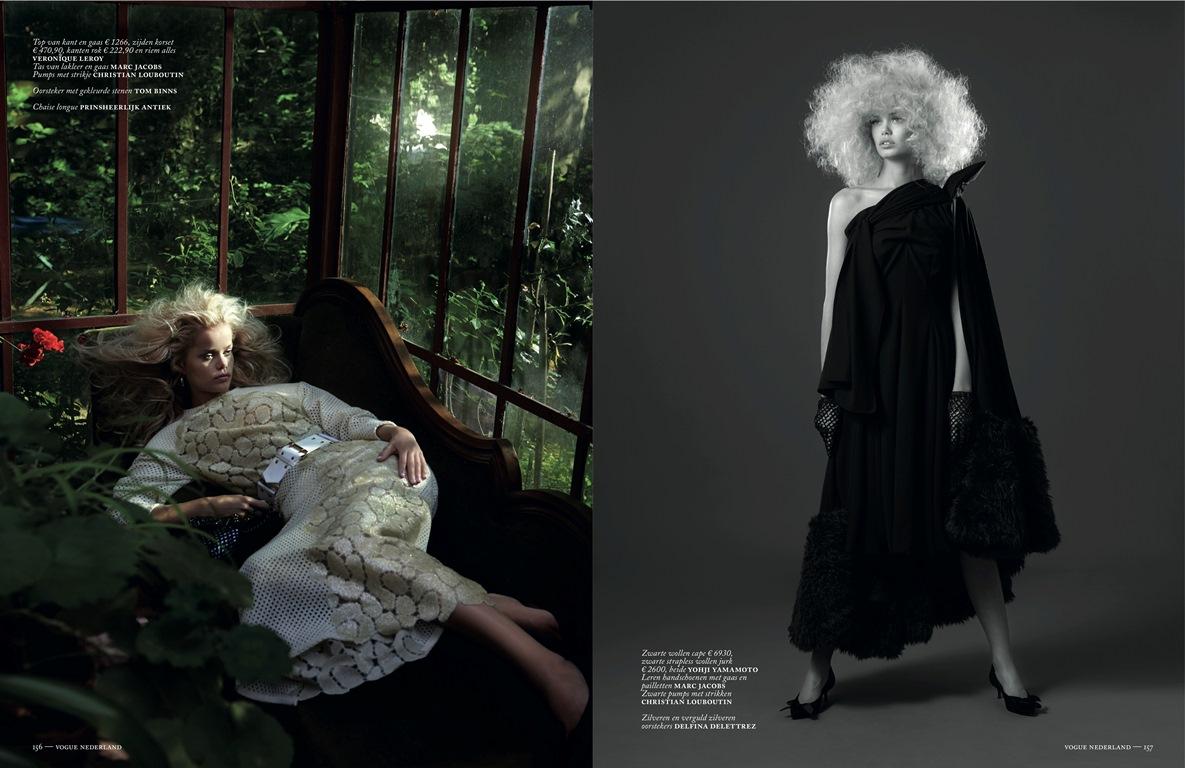 Doutzen Kroes September Vogue Nederland 2013 Tessted (5)