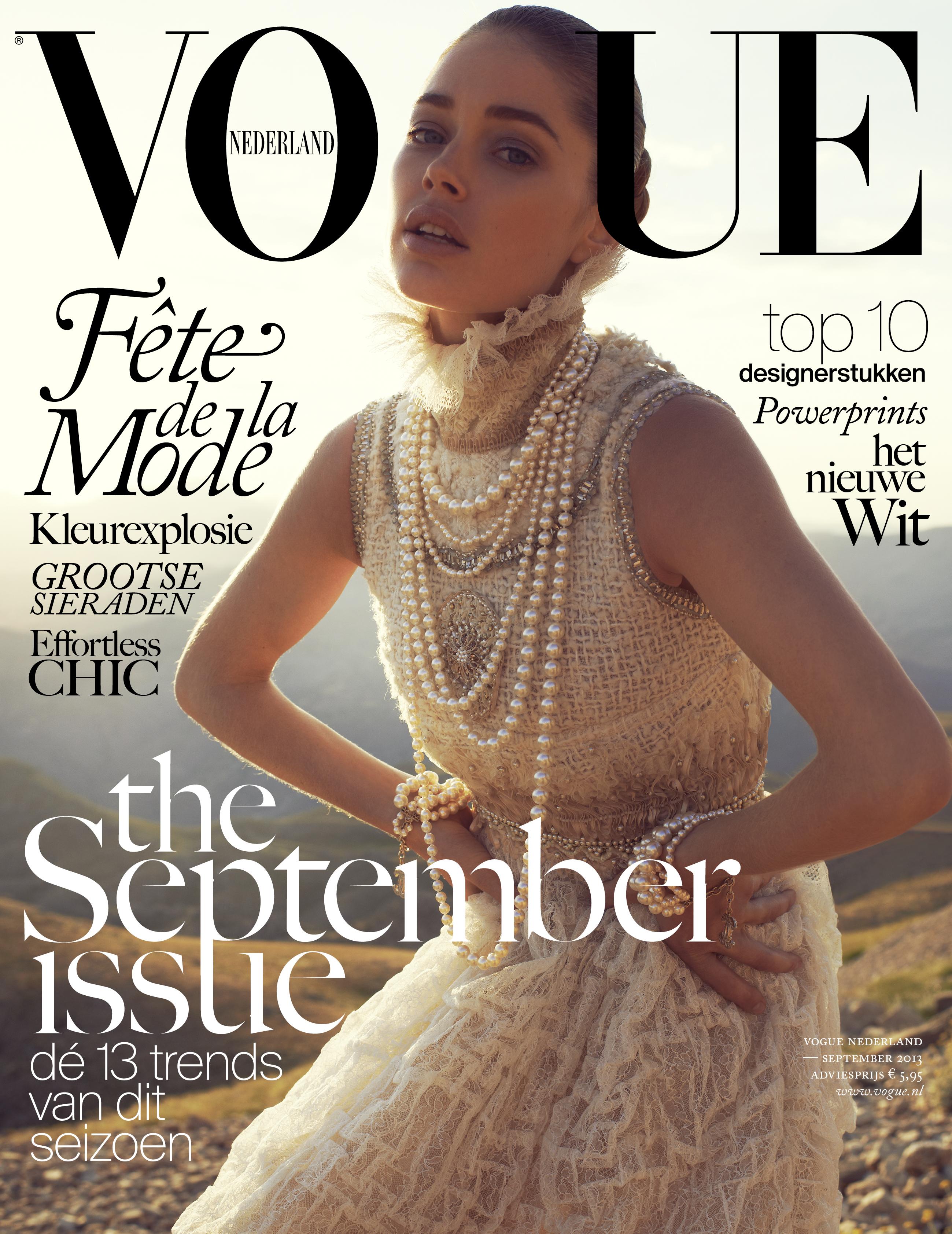 Doutzen Kroes September Vogue Nederland 2013 Tessted (6)