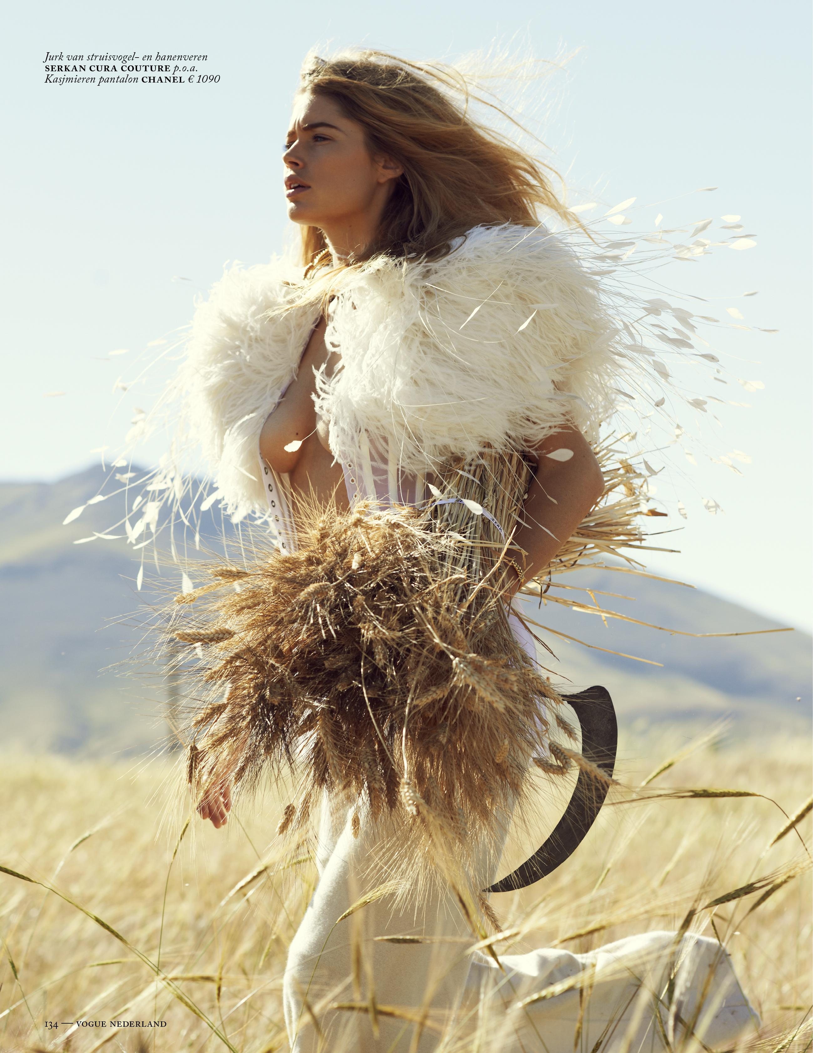 Doutzen Kroes September Vogue Nederland 2013 Tessted (8)