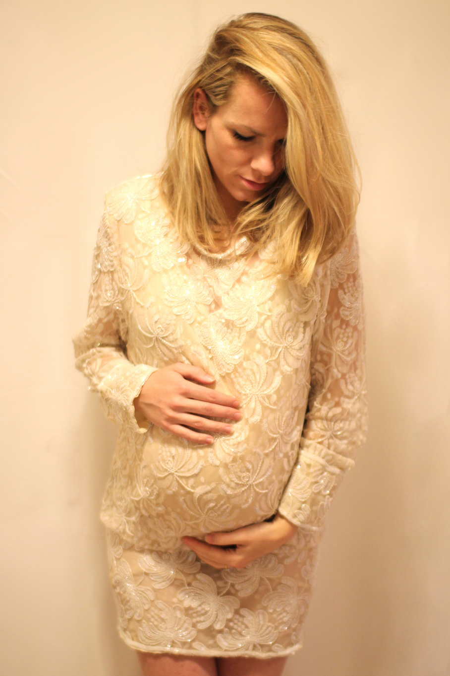 TESSTED PREGNANT OUTFIT