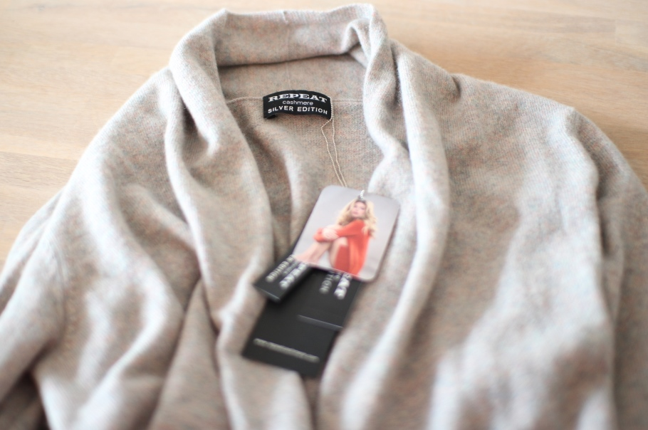 repeat cashmere give away tessted