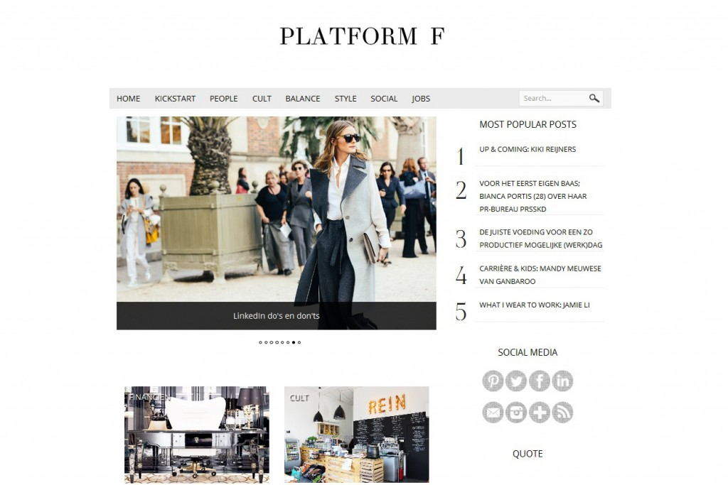 Platform F